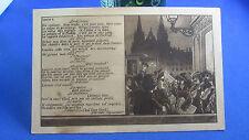 cpa illustrateur fantaisie  marionnette guignol lyon louise 3  st nizier