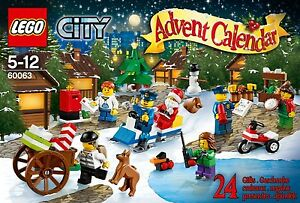 LEGO CITY 60063 Calendrier de lavent Advent Calendar  ++ 100% NEUF ++ NEW