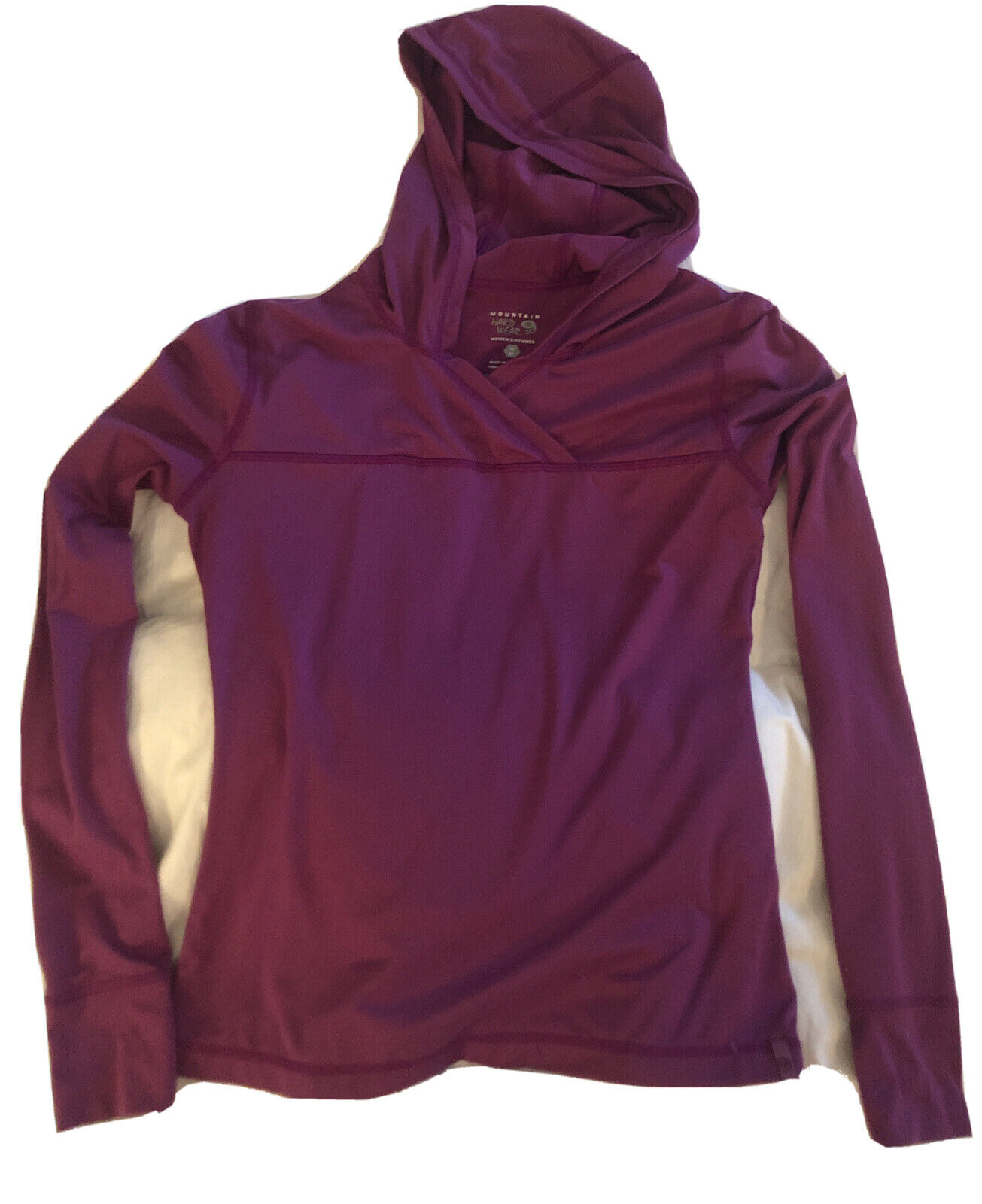 Mountain Hardware Women's XS Pull Over Hooded Top Active Outdoor Hike Camp Pink