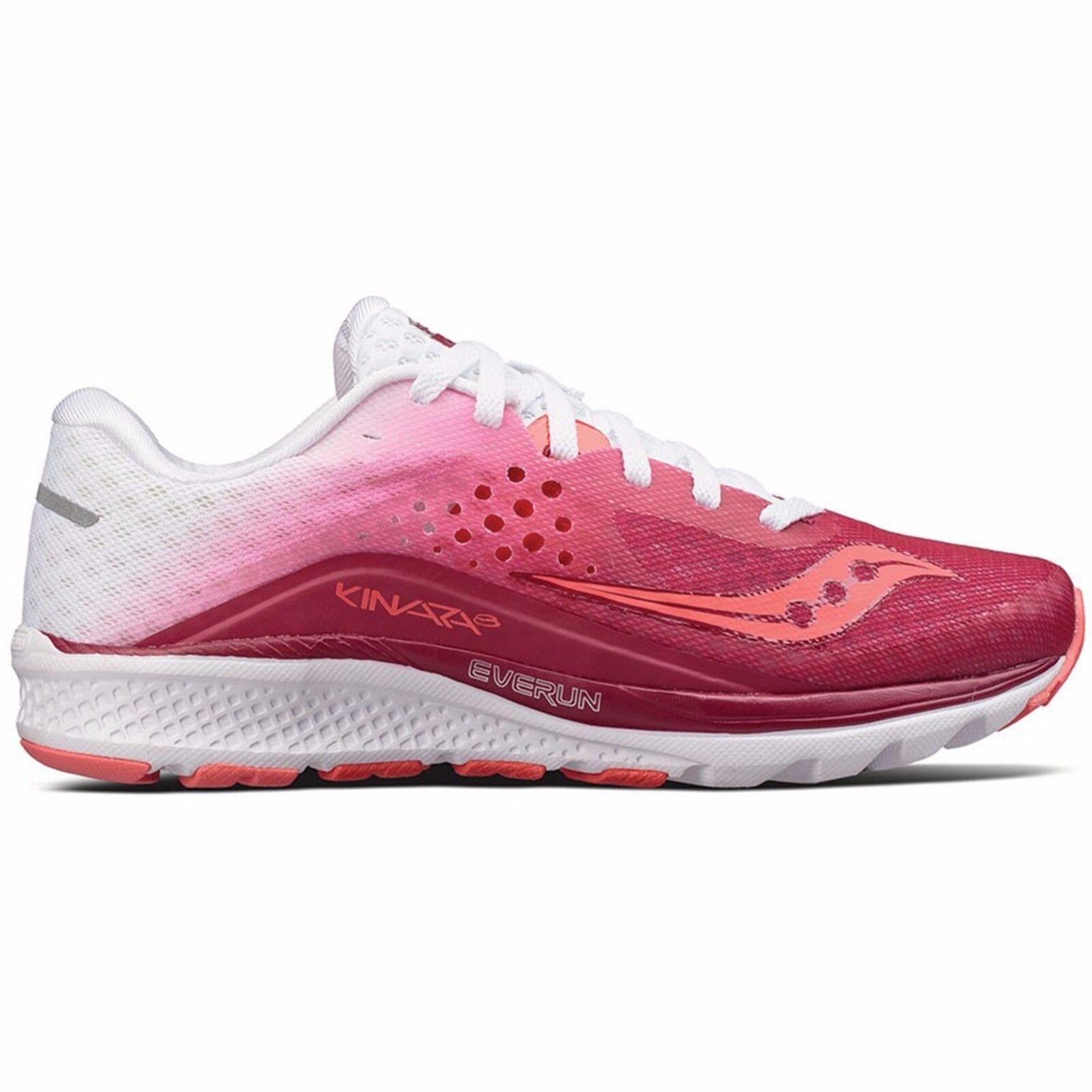 Saucony Kinvara 8 women Running shoes Scarpa pink purple Corsa Strada S10356-5