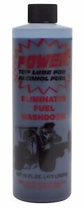 1 Bottle BLUE UNSCENTED Power Plus Lube Fuel Additive Alcohol Top Lube  16oz