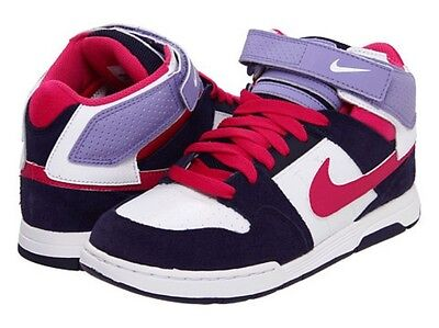 New Nike Girls or Boys Mogan MID 2JR B 645025 036 Shoes Size 5
