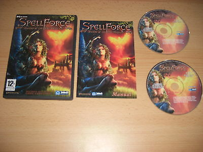 Spellforce 1 SHADOW OF THE PHOENIX Add-On Expansion Pack Pc Cd Rom Spell Force