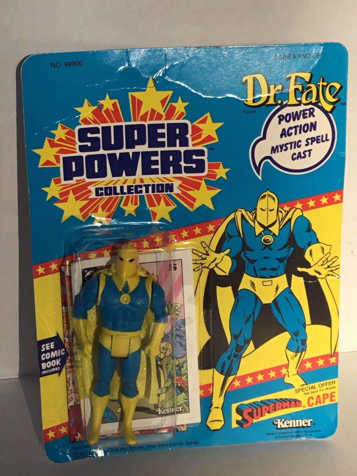 Kenner Super Powers  DR FATE  action figure  1985  DC Comics
