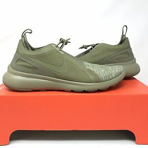 best authentic 74d17 e5778 Image is loading Nike-Current-Slip-On-BR-Olive-903895-200-