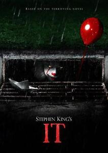 IT 2017 MOVIE POSTER Pennywise Stephen King Photo Print ...