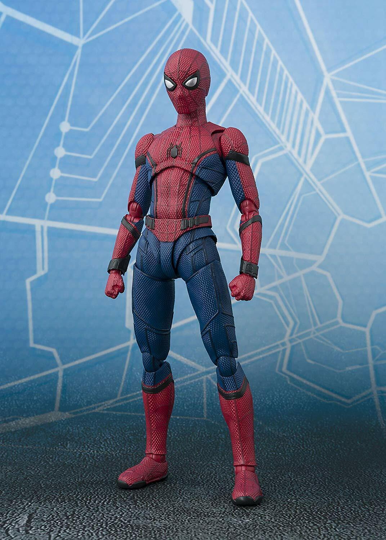 Bandai S. H. FIGUARTS Spider-Man Figura Spider-Man Far From Home Japón Oficial