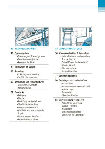 Bücher Schiff Boot Rumpf und Decksreparaturen Reparatur Deck Wartung Pflege Leck Buch