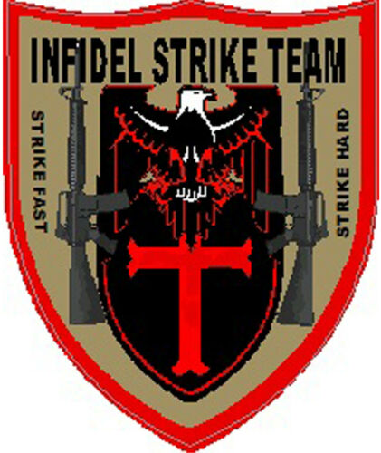 SP-21 Infidel strike force sticker