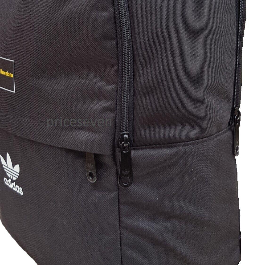adidas Originals Mens Sonar Barcelona Backpack Rucksack Bag Black BP7155