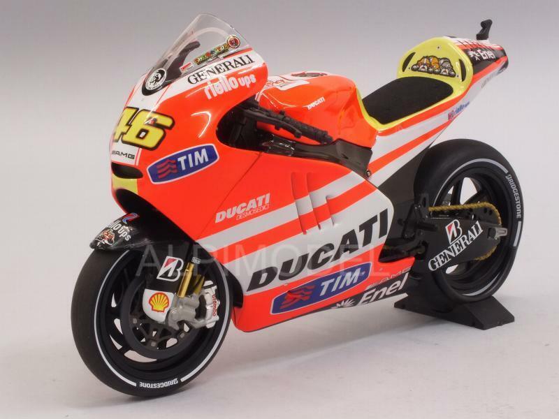 Ducati Desmosedici GP 11.1 MotoGP 2011 Valentino Rossi 1 12 MINICHAMPS 122111046