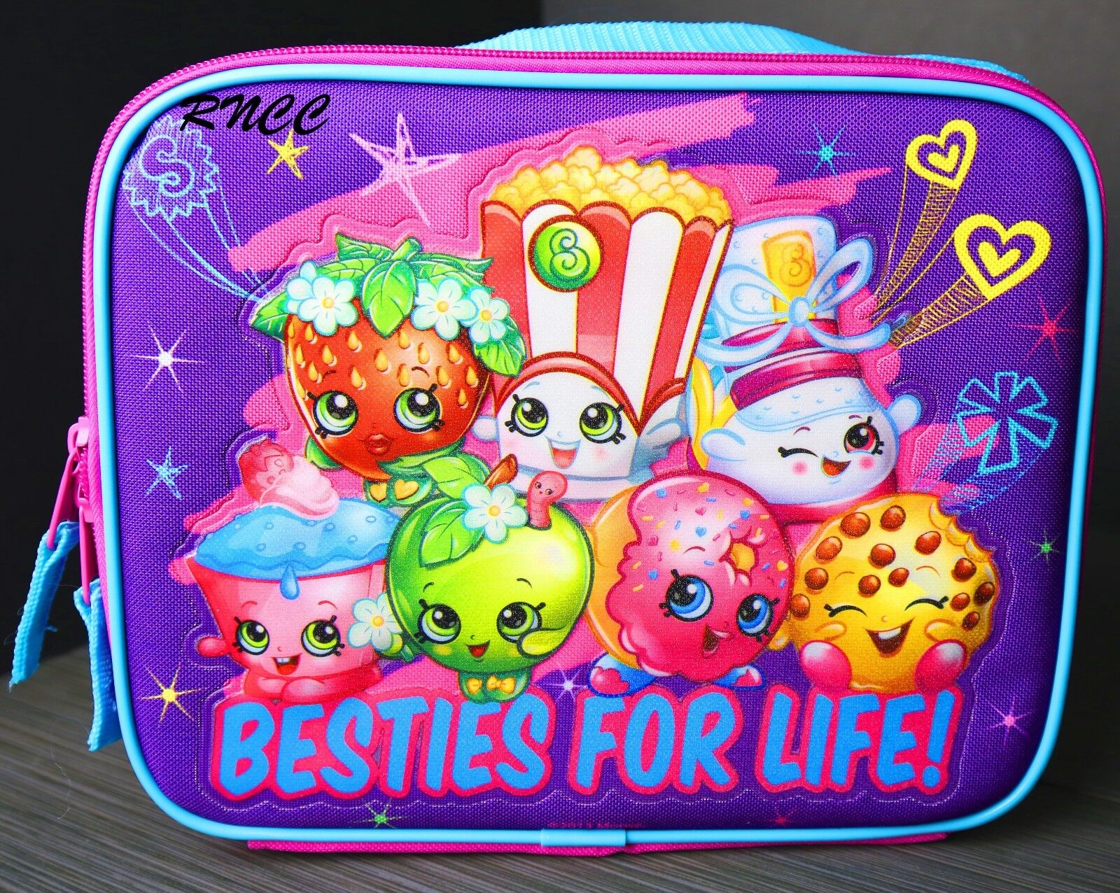 SHOPKINS Besties For Life Lunch box GIRLS INSULATED SCHOOL BAG TOTE NWT