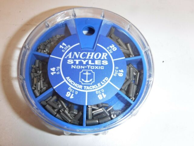 DISPENSERS ANCHOR TACKLE SHOTS//STYL LEADS POLE //ROD FISHING
