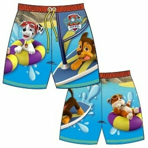 Boys Swim Shorts Swimming Trunks Beach Holiday Kids Ages 1-10 Years