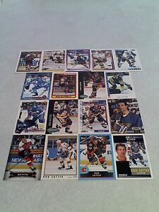 Ron-Sutter-Lot-of-125-cards-41-DIFFERENT-Hockey