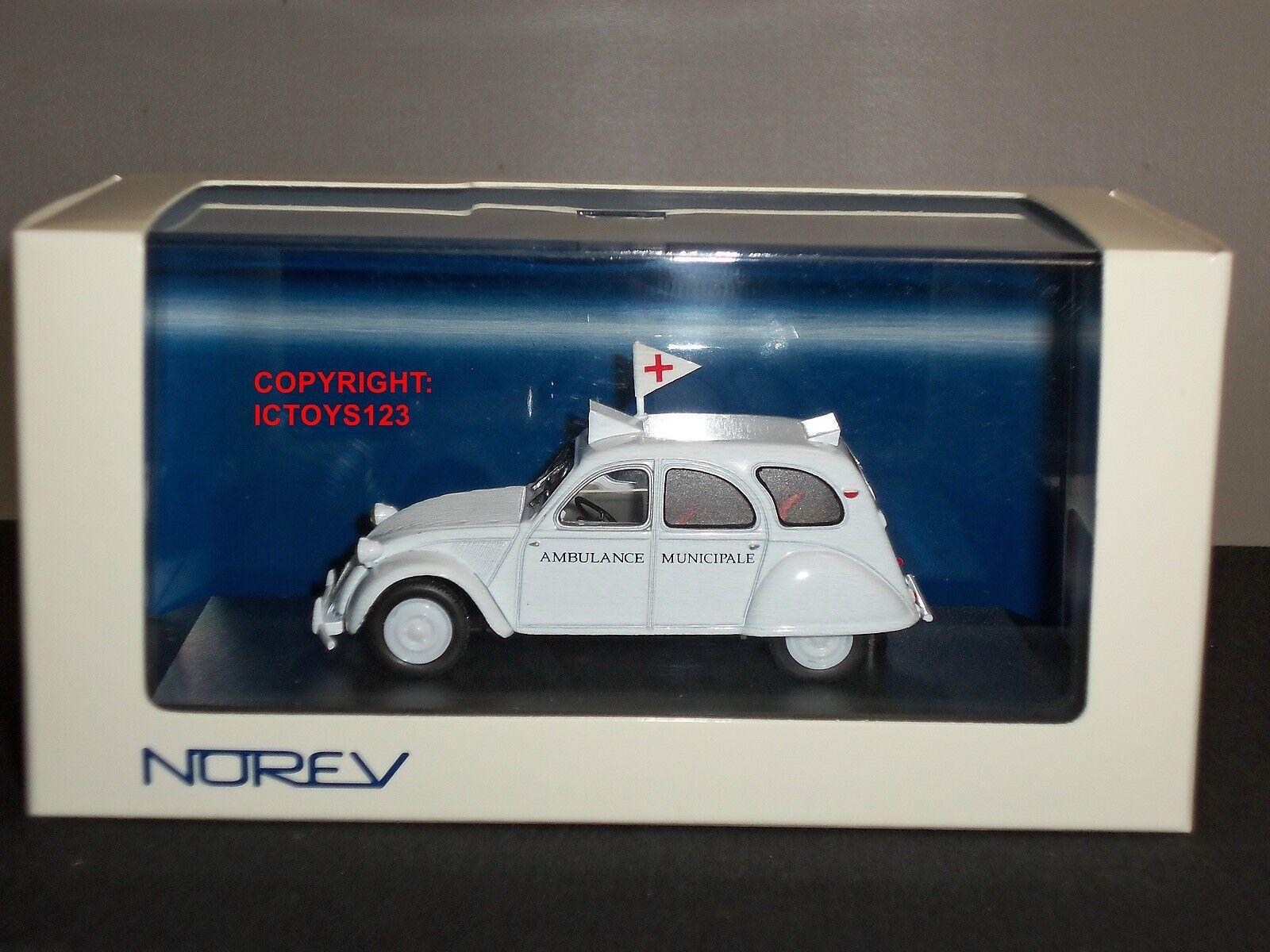NOREV 150081 CITROEN 2CV AMBULANCE DIECAST MODEL CAR