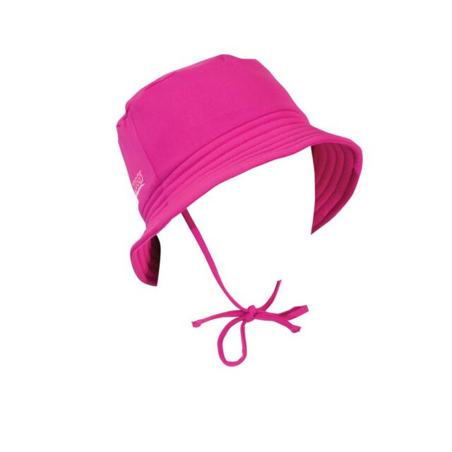 854d0dec70e Zoggs Girl s Sun Protection Hat - Fuchsia One Size