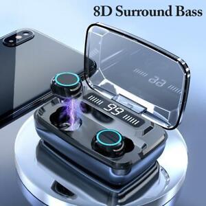 IPX7-Bluetooth-5-0-Headset-TWS-Wireless-Earphones-Mini-Earbuds-Stereo-Headphones