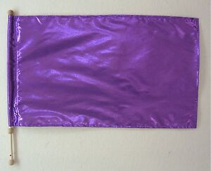 1 Child Size Lame Rectangle Flag- Many Color to Choose- Christian Worship Dance