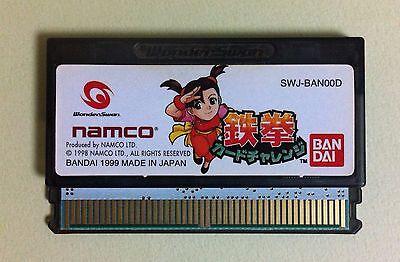 TEKKEN Card Challenge WonderSwan WS Wonder Swan JAPAN USED