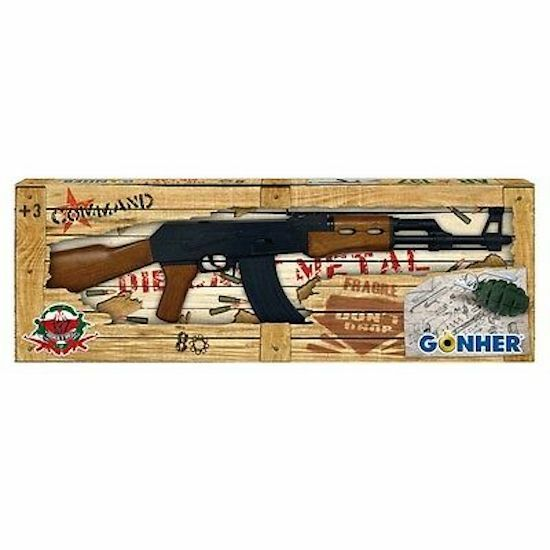 2 UZI BLACK PLASTIC 8 SHOT CAP GUN toy machine guns boys play military item new