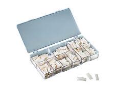 French Tips 500 Kunstnägel Nageltips Box artificial Nails weiß künstliche Nägel