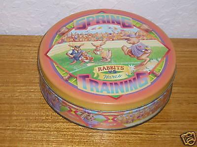 Merchandise & Memorabilia Berry Station Provision Rabbit Tin Can Collectible 100% Original Advertising