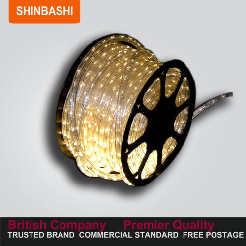 PREMIER Warm WHITE LED String Strips Rope Lights FULL SET /& UK Warranty