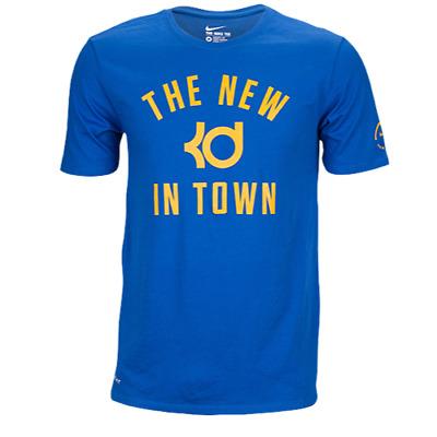 NEW NIKE KEVIN DURANT GOLDEN STATE WARRIORS NBA MEN/'S LARGE T-SHIRT AV5426 100