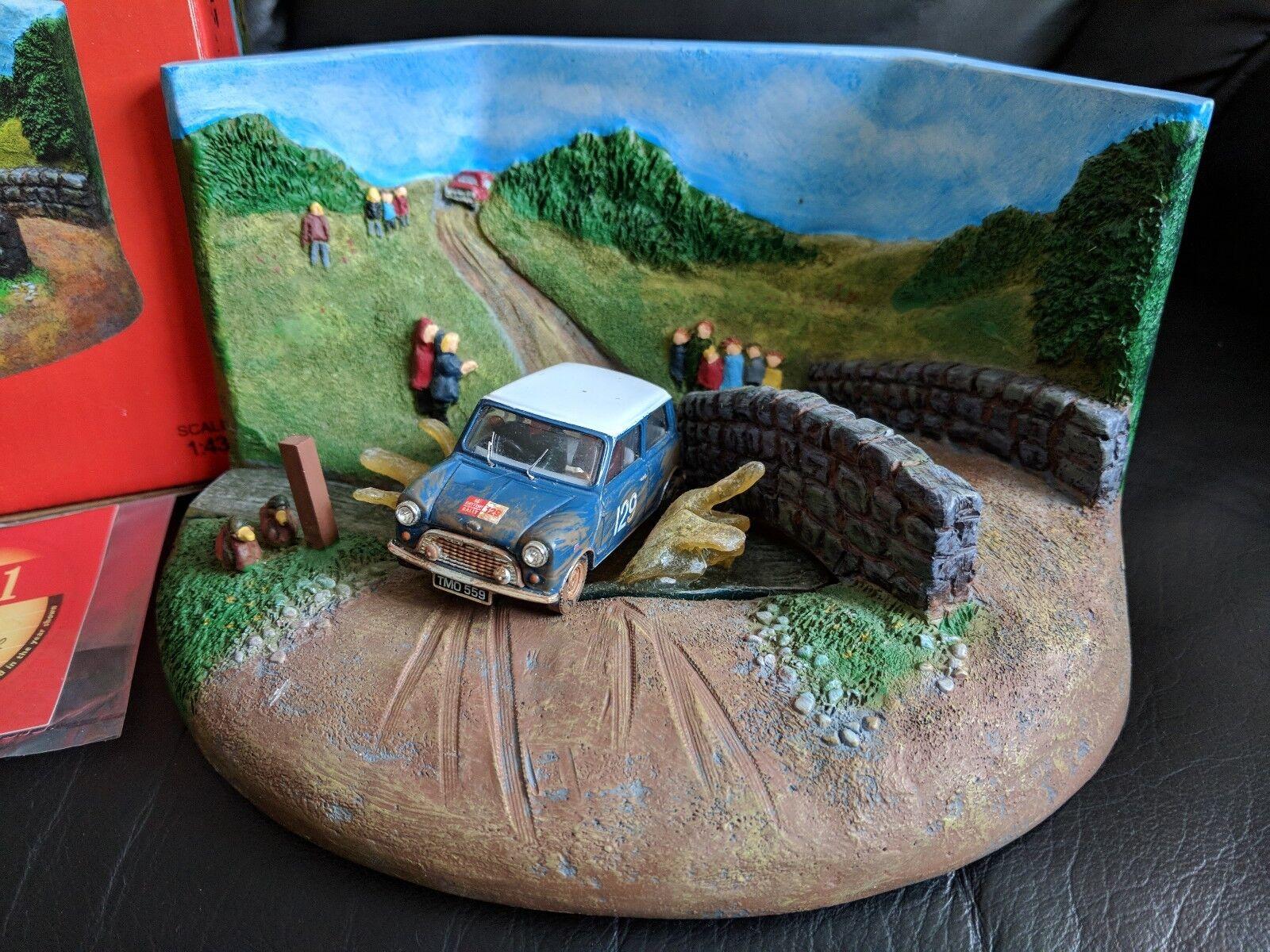 Vanguards... Mini Cooper Racing diorama... RD2001... 1 43... édition limitée...
