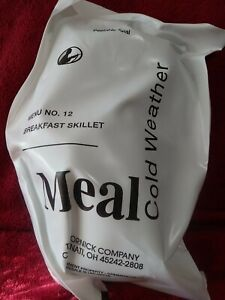 Meal Cold Weather Menu No. 12 Breakfast Skillet Freeze Dried Meal MCW MRE