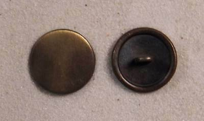 "Set of 6 JHB Gold Round Metal Buttons Matte Cross 13//16"" 20 mm lyk0052"