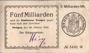 Inflation-Notgeld-Fuenf-Milliarden-und-Zehn-Milliarden-Mark-5170d-2-Werte