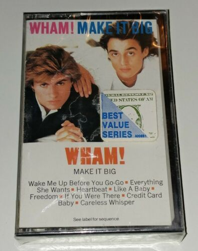 1 of 1 - Make It Big by Wham New Cassette Oct-1984 Columbia USA George Michael