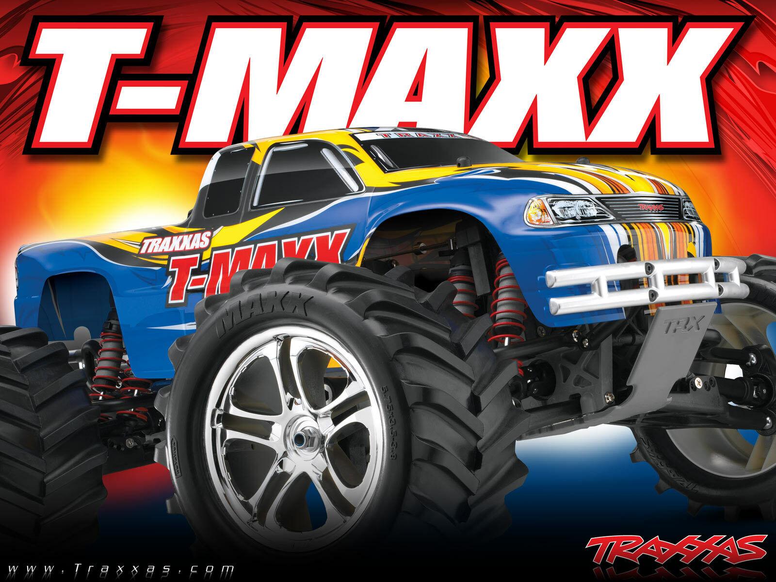 Traxxas  49104-1 1 10 Scale T-Maxx classeeic Nitro 4WD TQ 2.4GHz