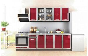 Cucina componibile senza elettrodomestici Venezia design moderno ...