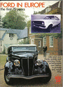 Ford-in-Europe-1st-70yrs-Model-A-C-amp-T-30hp-V8-Anglia-Pilot-Zephyr-Escort-1600E