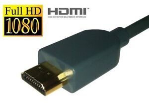 Microsoft OEM One Grey HDMI Cable For Xbox 360 Very Good 3Z