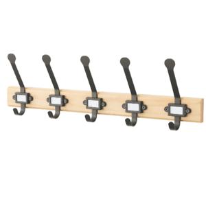 Ikea Kartotek Leiste Mit 5 Haken Aufhänger Wand Haken Kleiderhaken