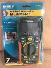 True Rms Auto Ranging Digital Multimeter Brand New Extech Ex205t