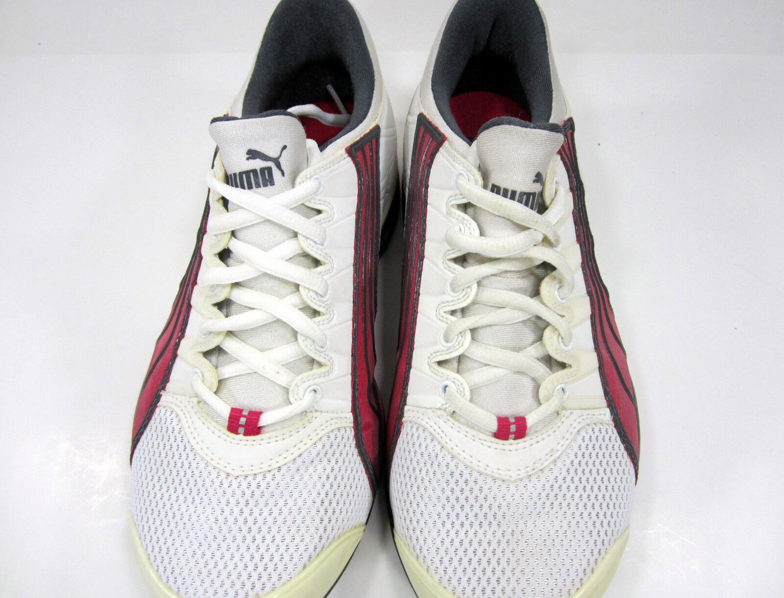 Puma Schuhes ROT Athletic Sports Running Weiß/Cream/ ROT Schuhes Sneakers Damenschuhe 7 f890b3