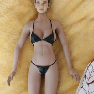 1 6th Black Sexy Female Leather Underwear Bikini For 12
