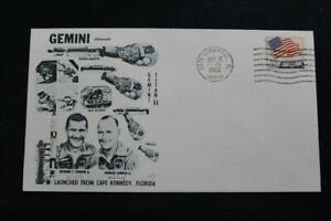 Espacio-Cubierta-1965-Mano-Cancelado-Gemini-GT-3-Launch-Orbit-Cubierta-1711