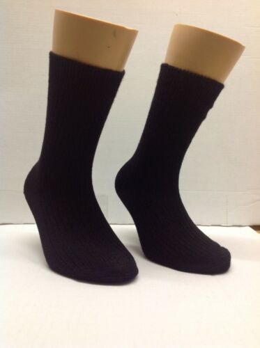 UK made... Children/'s socks shoe size 9-12 Ankle Length in Black