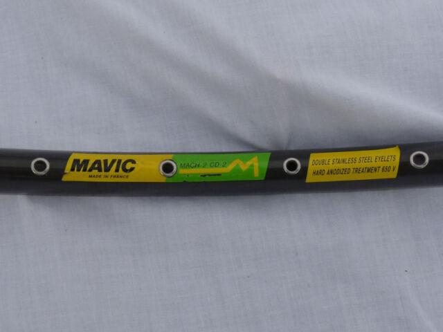 Mavic Mach 2 CD 2 28 hole sew-up tubular rim 650c