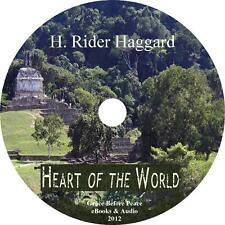 Heart of the World H Rider Haggard Audiobook unabridged English Fiction 1 MP3 CD
