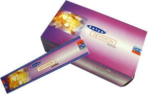 Nag-Champa-034-Devouement-034-Encens-3x15g-boites-d-039-Encens-Vendeur-Britannique