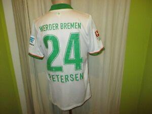 Werder-Bremen-Nike-Auswaerts-Matchworn-Trikot-2013-14-Nr-24-Petersen-Gr-L-TOP