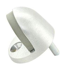 Tell Manufacturing DT100033 Low Style Floor Stop Satin Chrome Cast