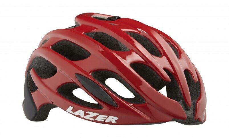 Nuevo Lazer Para hombre Blade + Ciclismo Casco Tamaño Plus Medio-Rojo Negro